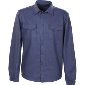 Roughstuff Feldhemd longsleeve Heren blauw